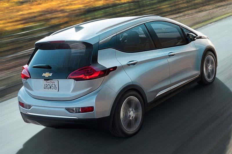 Imagen de Chevrolet Bolt EV, coche de GM