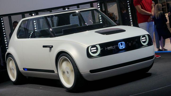 Imagen del Honda Urban EV Concept, coche eléctrico de Honda