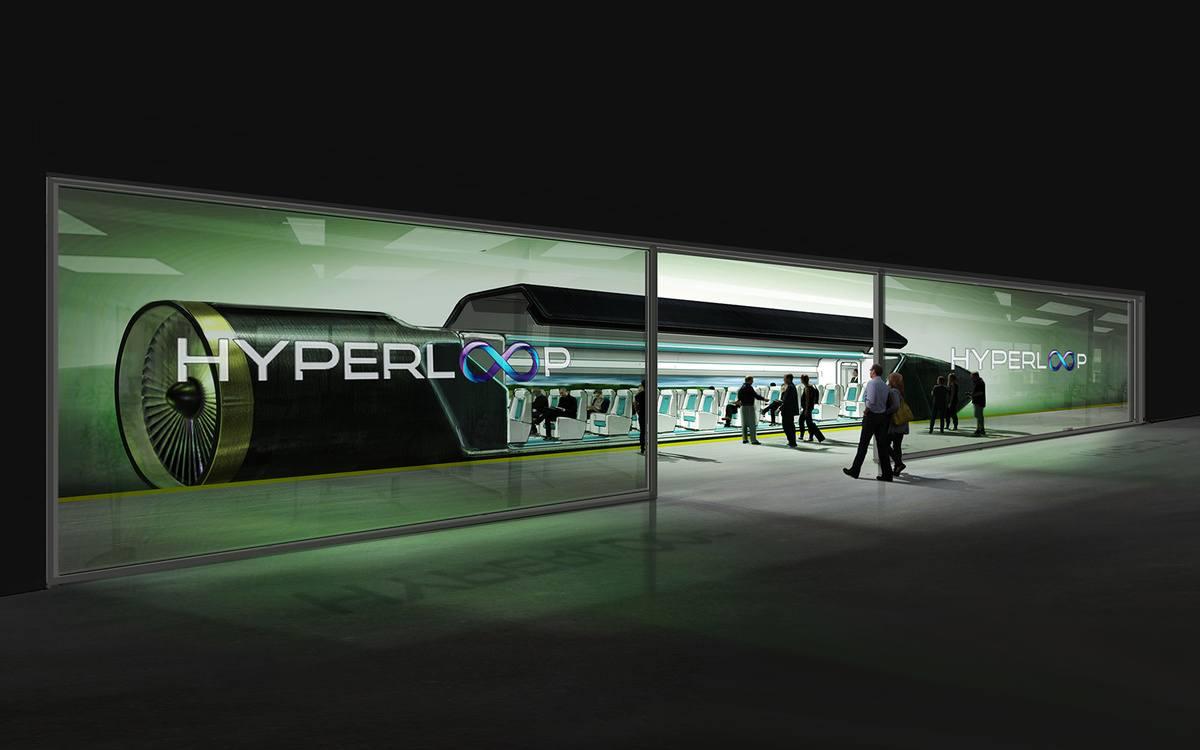 Imagen del Hyperloop
