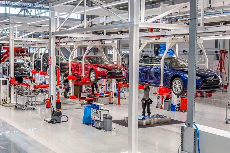 Tesla y su nueva fábrica en China (Shangai)