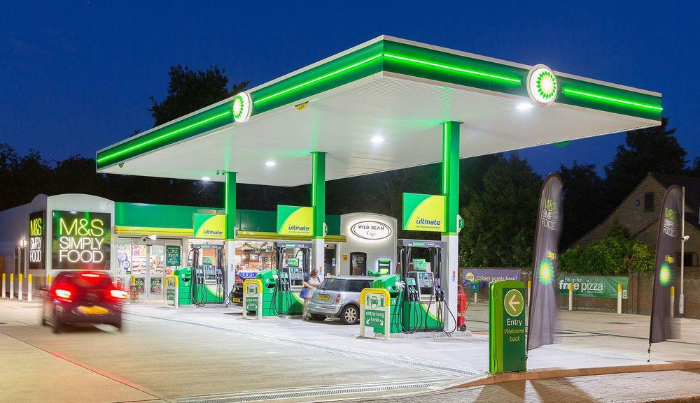 Puntos de carga eléctrica en gasolineras