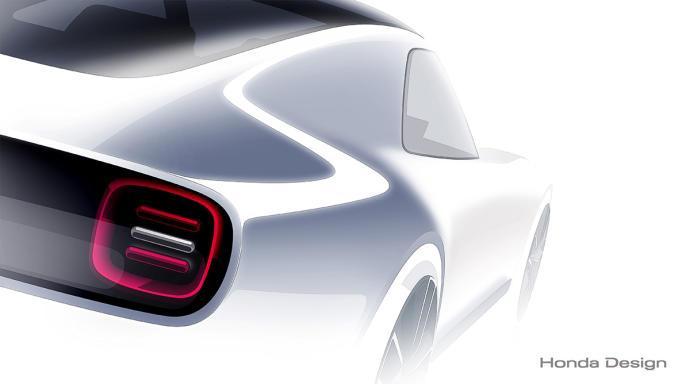 Teaser del Honda Sports EV Concept
