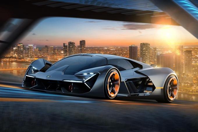 Imagen del Lamborghini Terzo, el deportivo eléctrico de Lamborghini