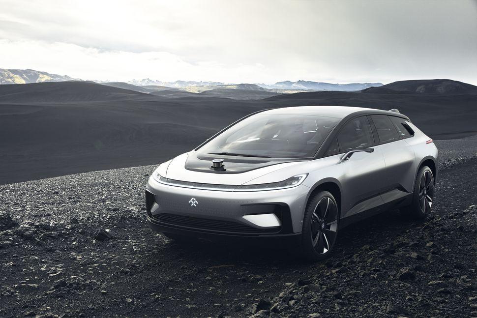 Imagen del coche eléctrico Faraday Future