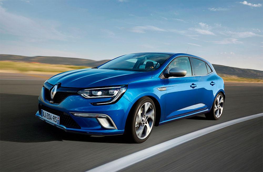Renault Megane - Conducción autónoma Proyecto Scoop
