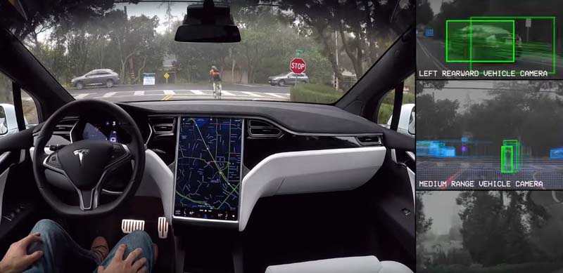 Tesla Autopilot 2.0 en Tesla Model S