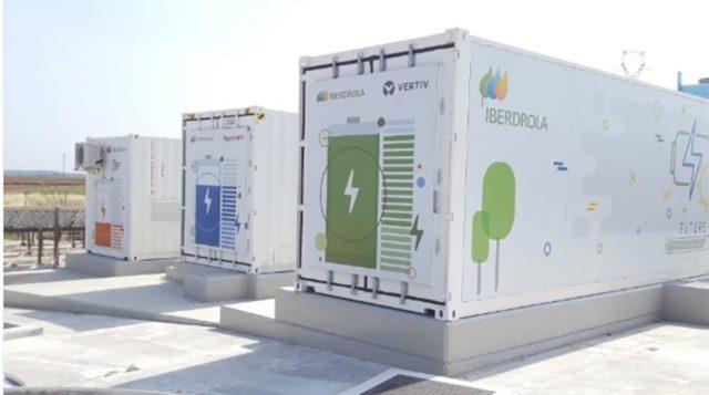 Planta de almacenamiento de baterías de Iberdrola