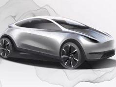 Diseño conceptual de un nuevo Tesla fabricado y diseñado en China