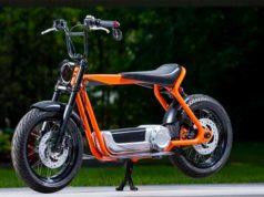 Foto de la Scooter eléctrica de Harley Davidson