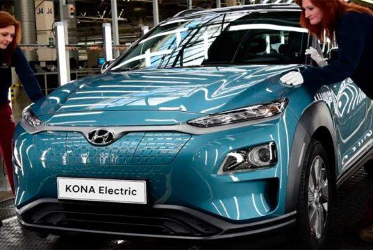 La fábrica checa de Hyundai ya produce el Hyundai Kona eléctrico