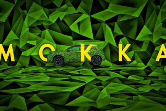 Opel deja ver el Mokka-e, un SUV eléctrico que llegará a principios de 2021