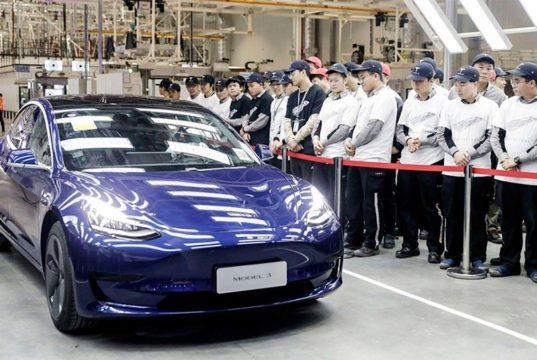 Tesla inicia la exportación del Model 3 fabricado en China para el mercado europeo