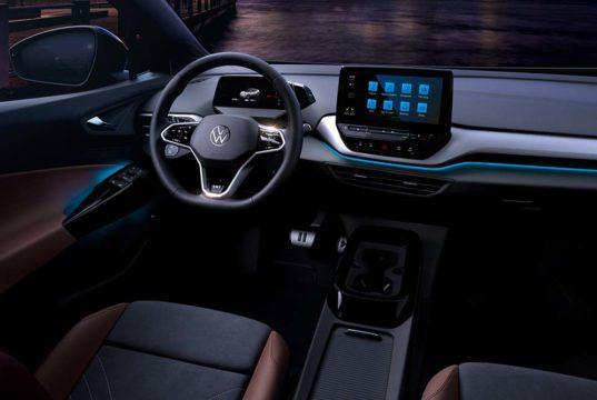 El interior del Volkswagen ID.4 al descubierto