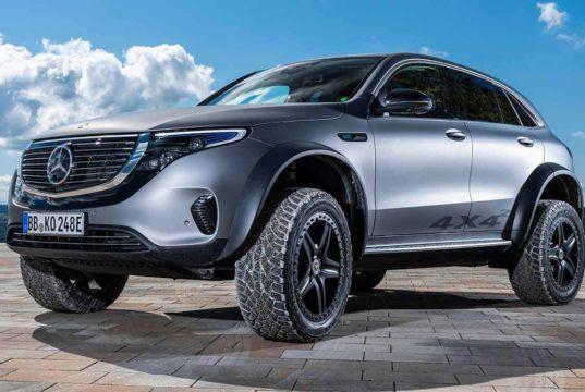 Así es la versión offroad y más bestia del Mercedes-Benz EQC