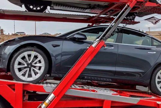 Mira las nuevas llantas que montan en el nuevo Tesla Model 3