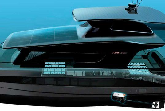 El yate solar fabricado en cooperación con Volkswagen y Cupra