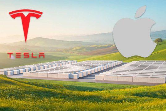 Apple invertirá 50 millones de dólares en baterías de Tesla para un nuevo proyecto energético