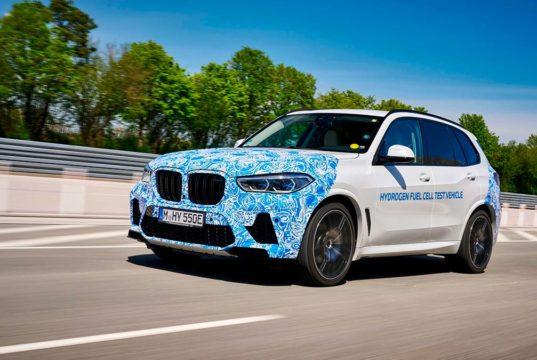 El BMW iX5 Hydrogen estará en el Salón de Munich y se podrá probar