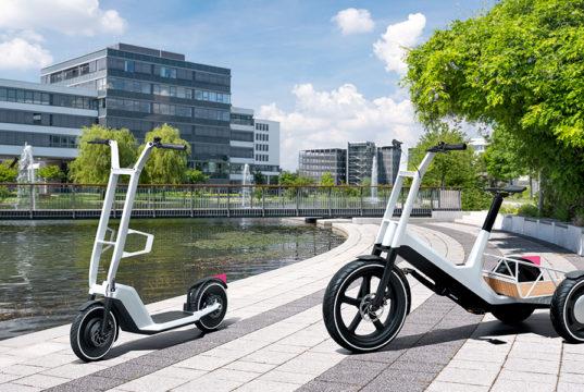 Bicicleta-electrica-BMW-Dynamic-Cargo-concept_Patinete-electrico-Clever-Commute-concept