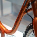 Bicicleta eléctrica retro de Peugeot