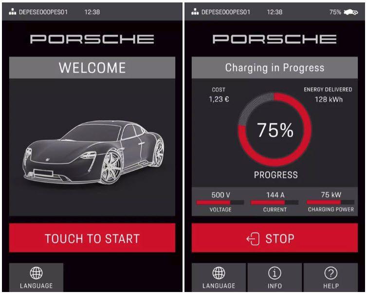 APP-movil_Porsche-Taycan