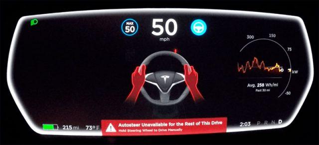Alerta Tesla AutoPilot