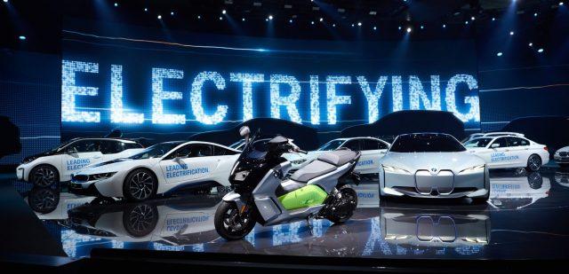 BMW-Electrifying