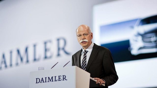 CEO de DAIMLER Mercedes-Benz