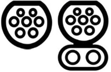 Conector Tipo 2 (Mennekes)_AC-Lenta_DC-Rapida