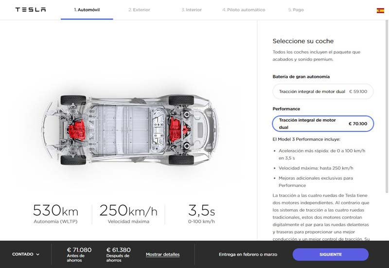 Configurador-Espana-Tesla-Model-3_version-Performance
