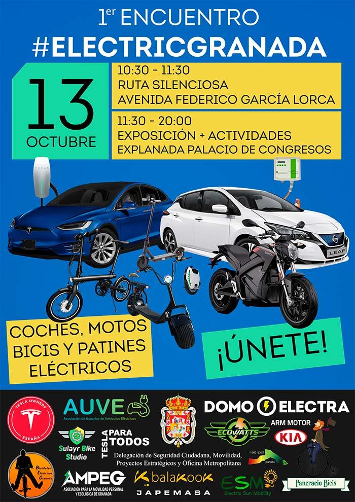 Cartel del evento Electric Granada