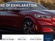 Foto del SUV eléctrico Ford Mustang Mach E