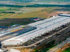 Foto de la Gigafactory de Tesla en China
