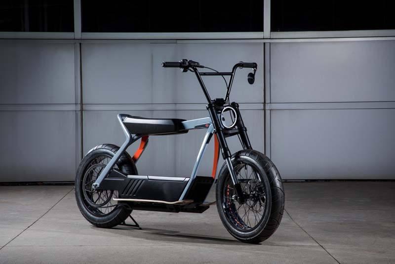 Harley Davidson Concept Eléctrico HD 2 - Ciclomotor eléctrico