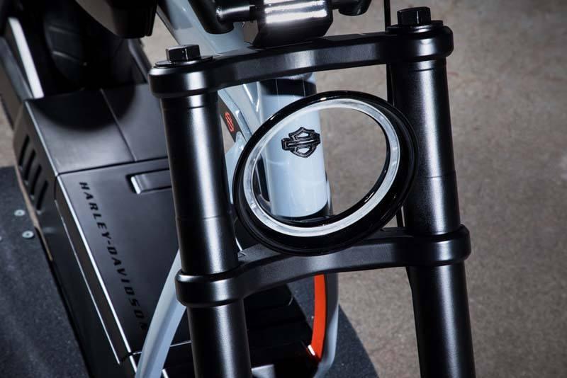 Harley Davidson Concept Eléctrico HD 1 - Motocicleta eléctrica de cross - Faros LED