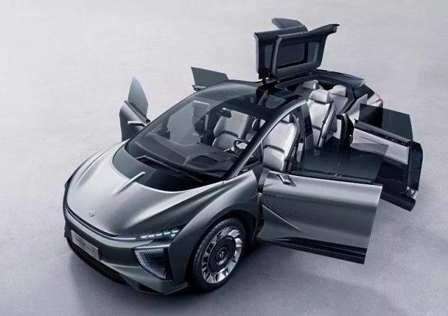 HiPhi 1, coche eléctrico chino