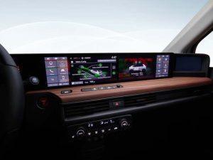 Honda E - detalle interior - pantallas