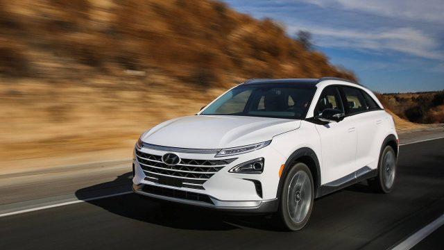 Imagen del Hyundai NEXO, vehículo con batería de pilas de hidrógeno