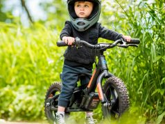 Bicicleta eléctrica para niños - Harley Davidson
