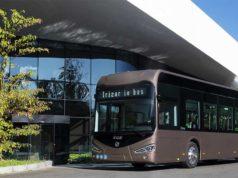 Foto del nuevo bus eléctrico de Irizar