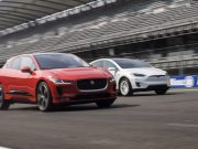 Imagen de la comparativa del Jaguar I-PACE VS Tesla Model X