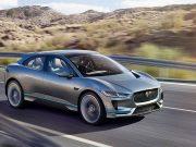 Imagen del Jaguar I-Pace, el coche eléctrico de Jaguar