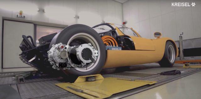 Kreisel muestra su transmisión automática de 2 velocidades para coches eléctricos