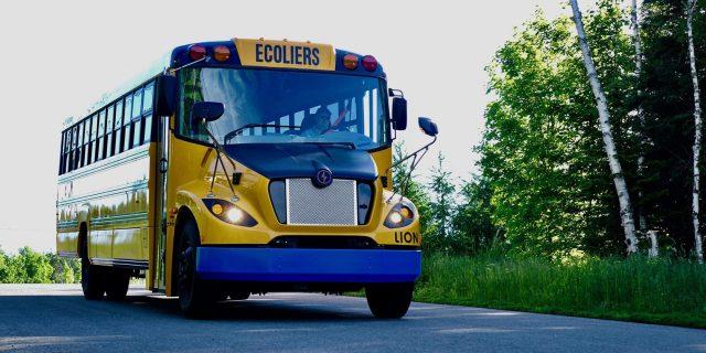 Autobús escolar eléctrico de Lion Electric