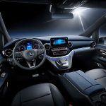 Mercedes-Benz EQV detalle interior
