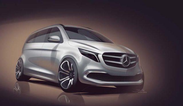 Boceto-Mercedes-Benz-V_Class-presentada-2019