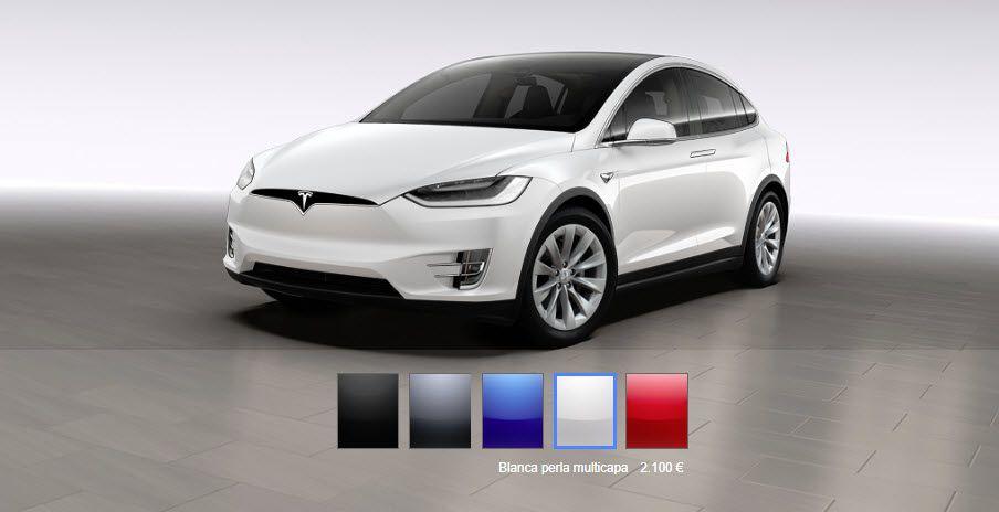 ModelX-Colores