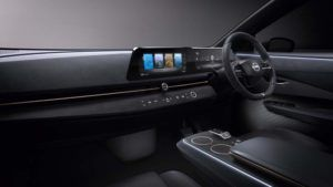 Foto del interior del Nissan ARIYA