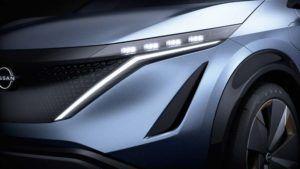 Detalle luz del Nissan ARIYA