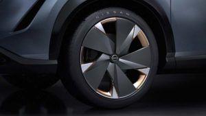 Foto de las ruedas del Nissan ARIYA